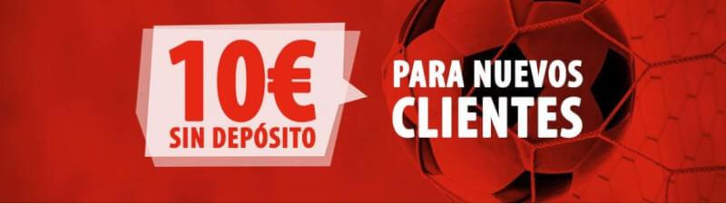 10 euros bono gratis nuevos clientes