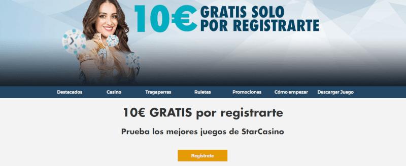 Bono de bienvenida 10 euros