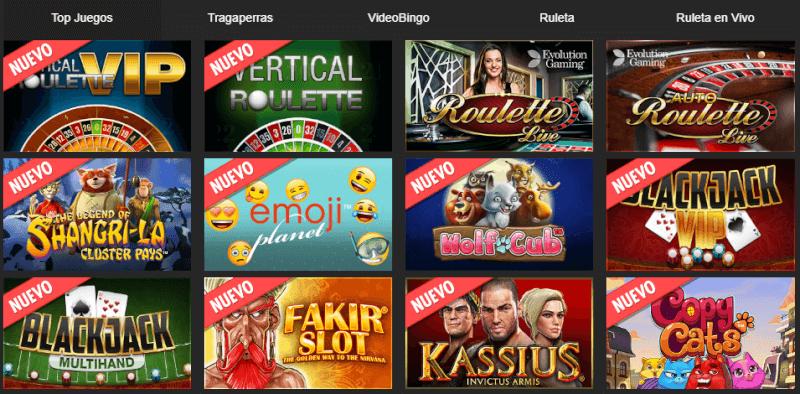 Circus casino juegos casino
