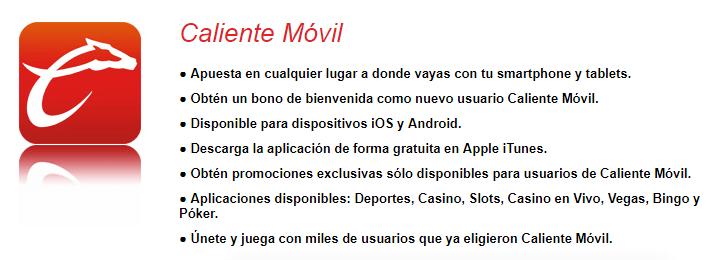 Casino Caliente descarga móvil