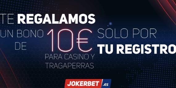Código promocional Jokerbet 10 euros casino