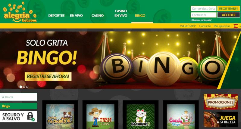 alegriabet bingo