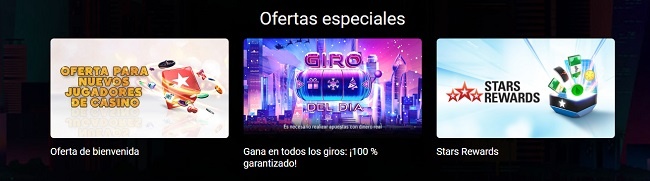 Otras Promociones de Pokerstars Casino
