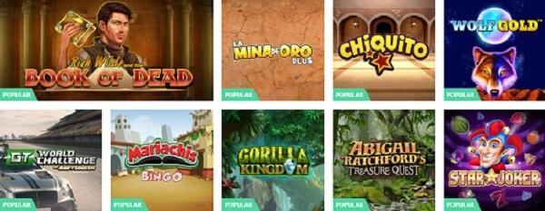 PlayUZU Juegos de Casino