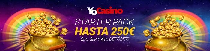 YoCasino Starter Pack