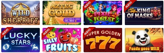 Gratogana Casino Juegos